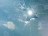 shattered-glass-sun-sky-1436667-s